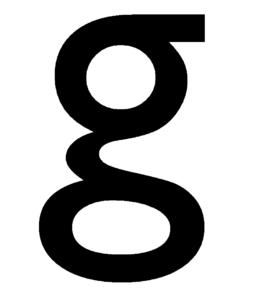 g in Gill Sans