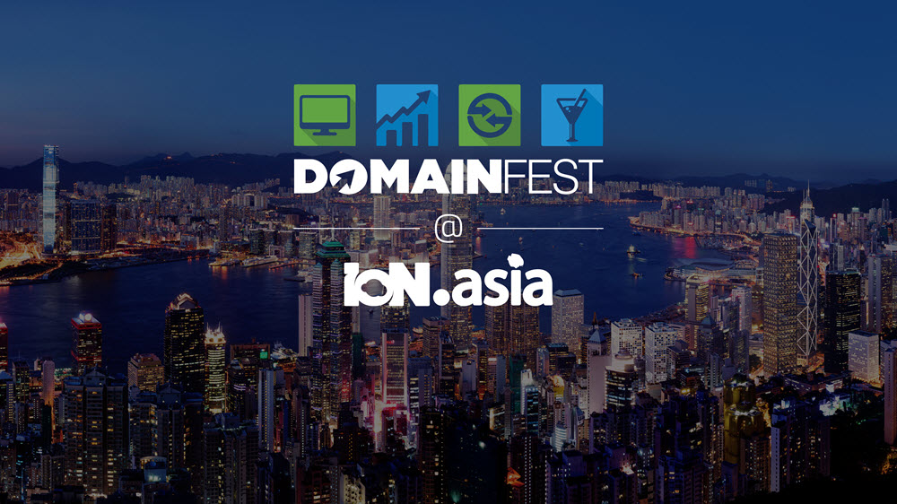 DOMAINfest@IoN.Asia Kicks Off in Hong Kong!